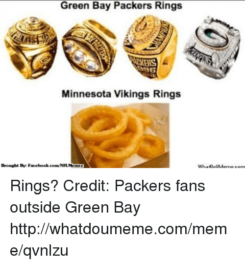 Minnesota Vikings: Green Bay Packers Rings  Minnesota Vikings Rings  Brought By Facebook.com/NH.Memez  WhatDouMeme.com Rings?