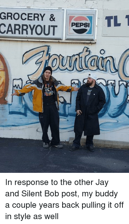 jay and silent bob: GROCERY &TL  PEPSI  ET  CET  EIRP
