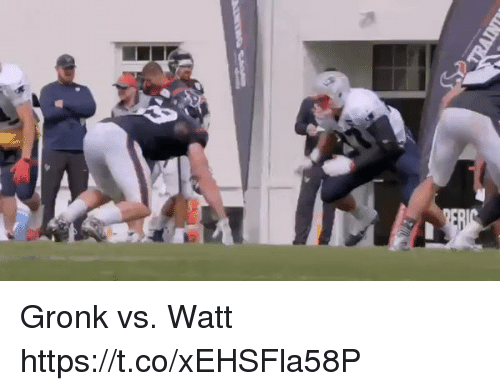 Gronked: Gronk vs. Watt https://t.co/xEHSFla58P
