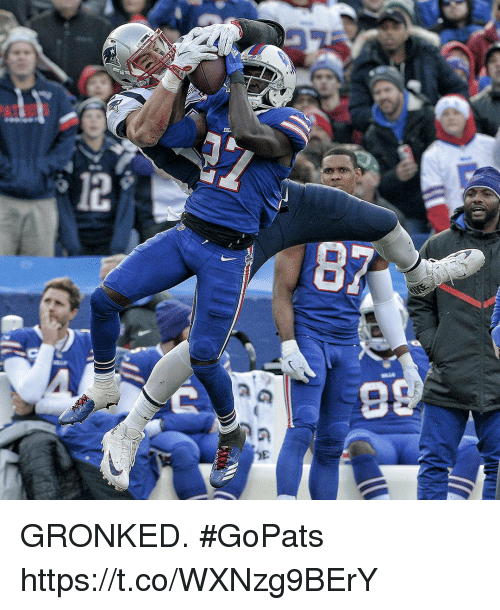 Gronked: GRONKED. #GoPats https://t.co/WXNzg9BErY