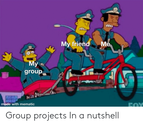 Group Projects: Group projects In a nutshell