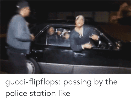 Police Station: gucci-flipflops:  passing by the police station like