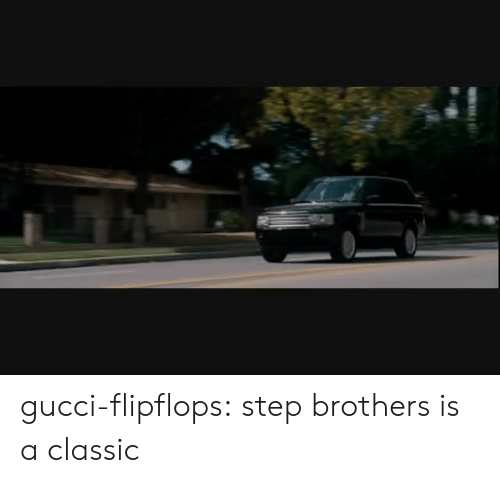 Step Brothers: gucci-flipflops:  step brothers is a classic