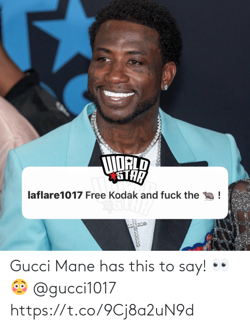 SIZZLE: Gucci Mane has this to say! 👀😳 @gucci1017 https://t.co/9Cj8a2uN9d
