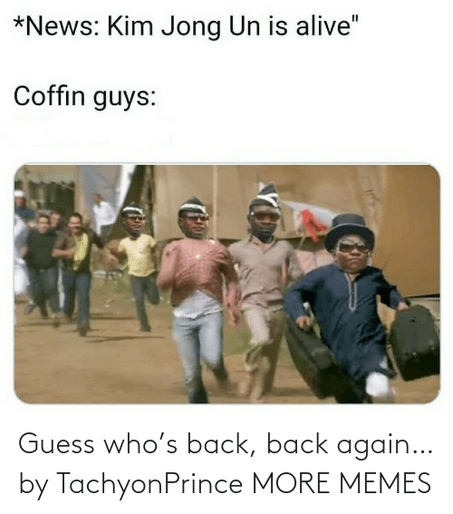Guess Who: Guess who's back, back again… by TachyonPrince MORE MEMES