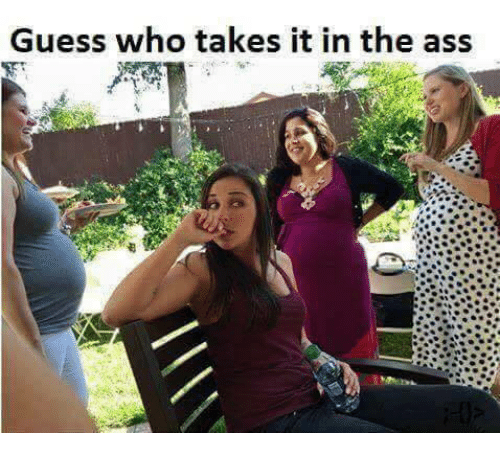Guess: Guess who takes it in the ass
