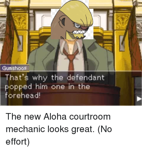 gumishoos thats why the defendant popped him one in the 3199887 search mechanic memes memes on me me,Pokemon Gumshoos Meme