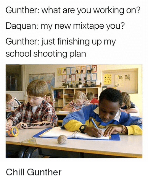 The Latest Service Planned For School Shooti: Funny Mixtapes Memes Of 2016 On SIZZLE