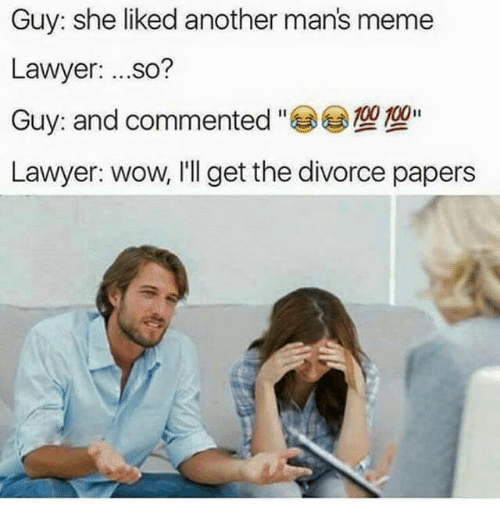 294 Funny Divorce Memes Of 2016 On SIZZLE
