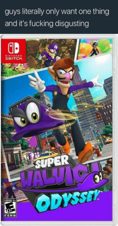Nintendo Switch : guys literally only want one thing  and it's fucking disgusting  GB  NINTENDo  SWITCH  SUPER