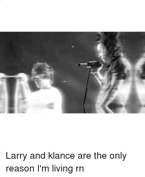Memes, 🤖, and Klance: h Larry and klance are the only reason I'm living rn