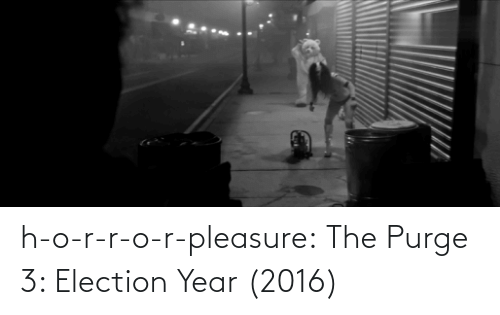 The Purge: h-o-r-r-o-r-pleasure:  The Purge 3: Election Year (2016)