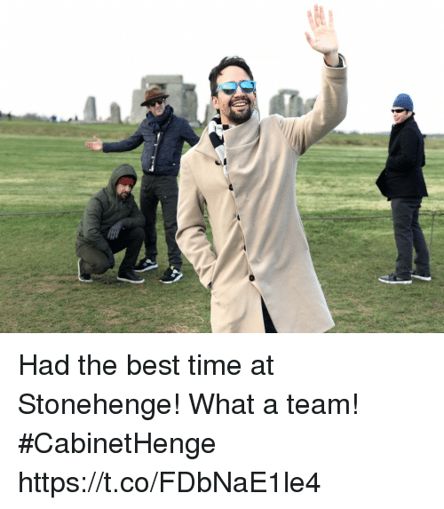 stonehenge: Had the best time at Stonehenge! What a team! #CabinetHenge https://t.co/FDbNaE1le4
