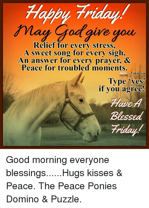 Good Morning Meme Blessed : Halby friday may god give you relief for every stress a