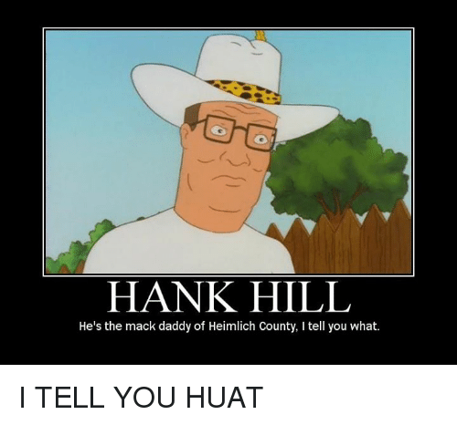 funny hank hill memes of 2017 on sizzle bobby king of