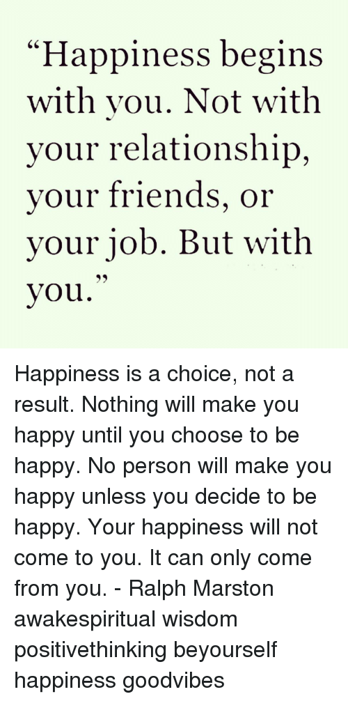 what makes you happy in a relationship