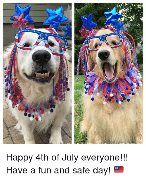 safe: Happy 4th of July everyone!!! Have a fun and safe day! 🇺🇸