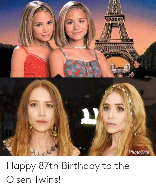 Twins: Happy 87th Birthday to the Olsen Twins!