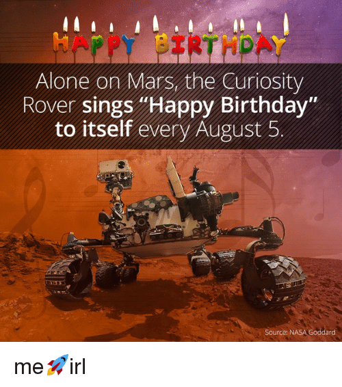 mars rover sings happy birthday to itself - photo #1