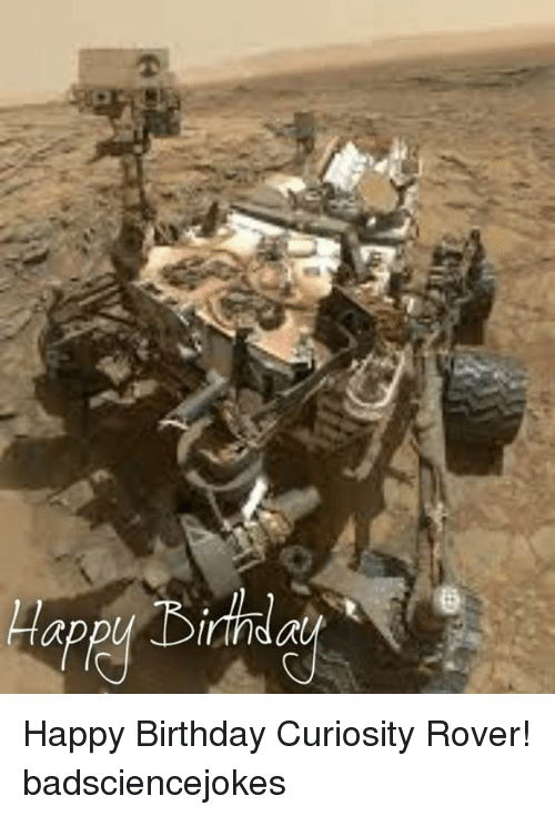 birthday of mars rover - photo #15