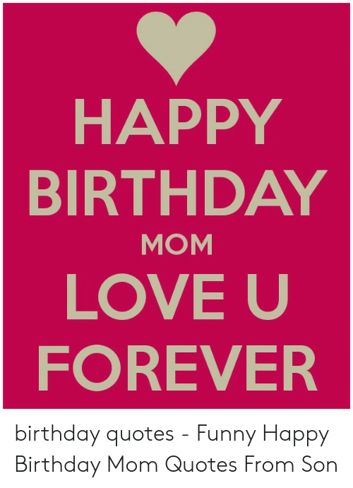25 Best Memes About Funny Happy Birthday Mom Funny