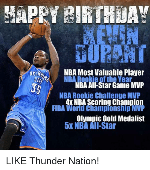 HAPPY BIRTHDAY NBA Most Valuable Player NBA All-Star Game