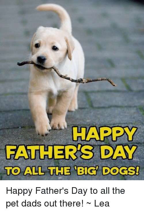 Happy Fathers Day Images With Dogs