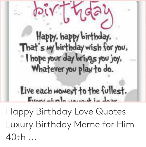 🔥 25 Best Memes About Birthday Meme for Him