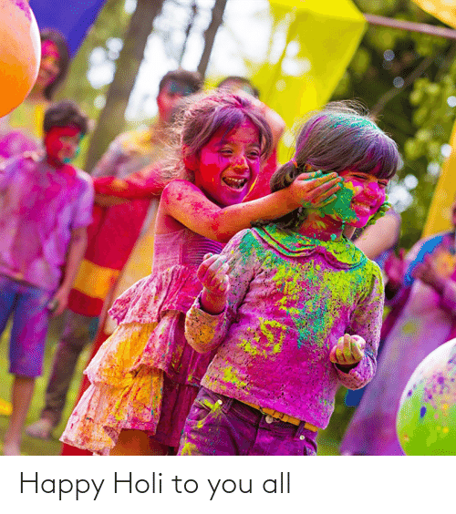 holi: Happy Holi to you all