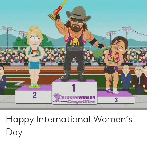 International: Happy International Women's Day