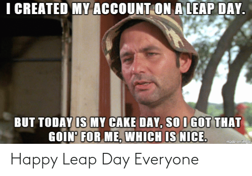 leap: Happy Leap Day Everyone