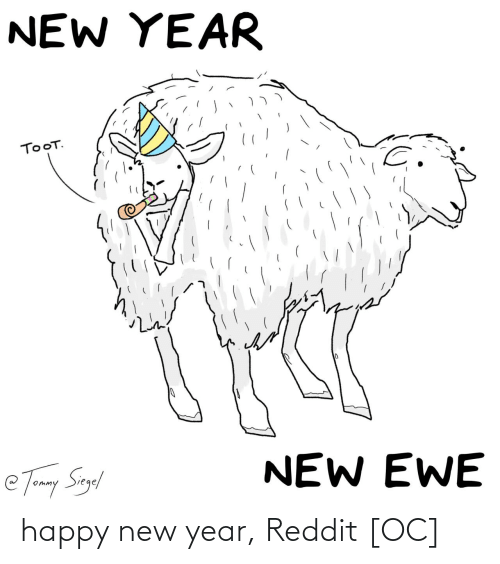 happy new year: happy new year, Reddit [OC]