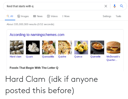 clam: Hard Clam (idk if anyone posted this before)