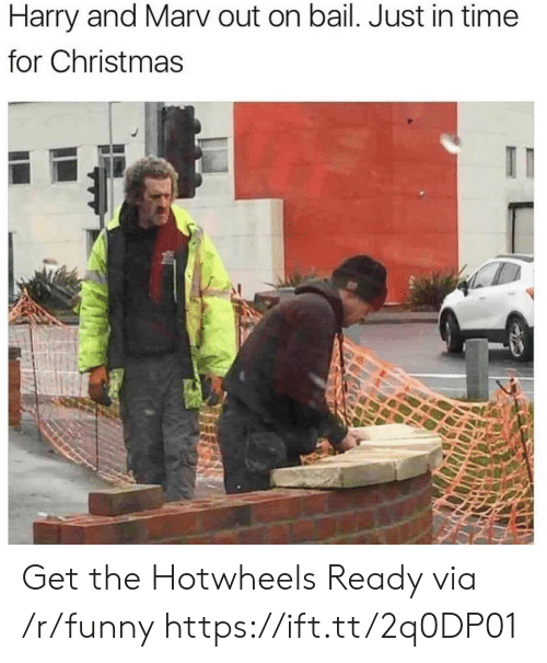 hotwheels: Harry and Marv out on bail. Just in time  for Christmas Get the Hotwheels Ready via /r/funny https://ift.tt/2q0DP01