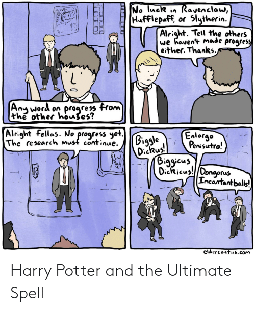 harry: Harry Potter and the Ultimate Spell
