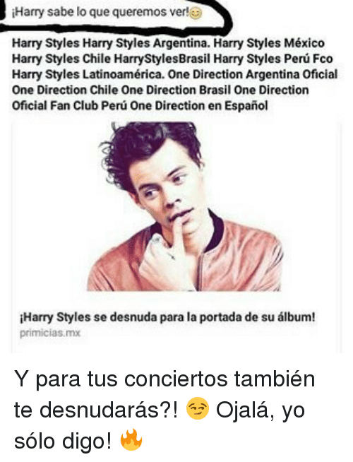 Club, Memes, and One Direction Harry sabe lo que queremos ver! Harry