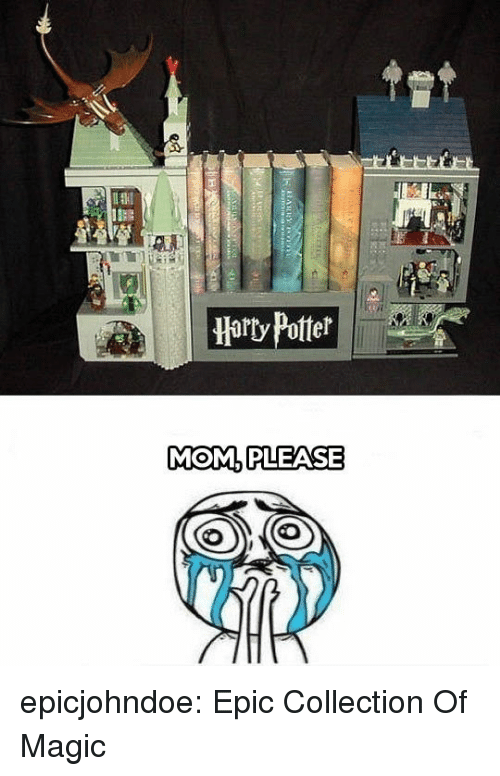 Tumblr, Blog, and Magic: Harty Potter  MOM.PLEASE epicjohndoe:  Epic Collection Of Magic