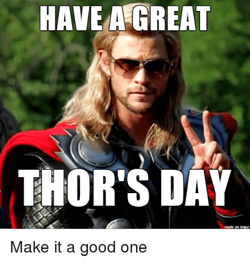 Image result for thor funny memes
