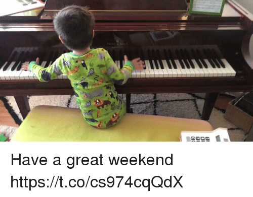 Memes, 🤖, and Weekend: Have a great weekend https://t.co/cs974cqQdX