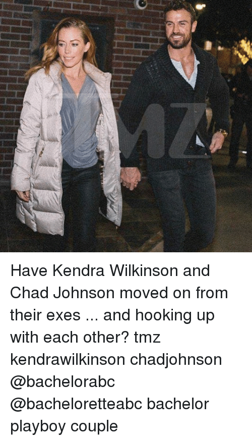 Hooking: Have Kendra Wilkinson and Chad Johnson moved on from their exes ... and hooking up with each other? tmz kendrawilkinson chadjohnson @bachelorabc @bacheloretteabc bachelor playboy couple
