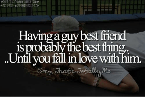 how to fall in love a guy