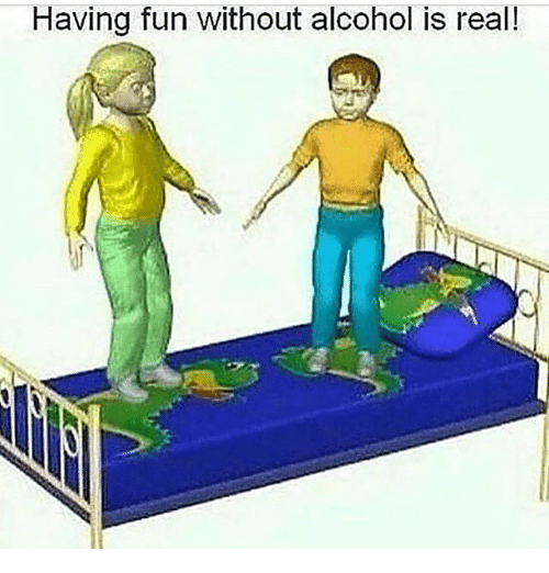 Memes, Alcohol, and 🤖: Having fun without alcohol is real!