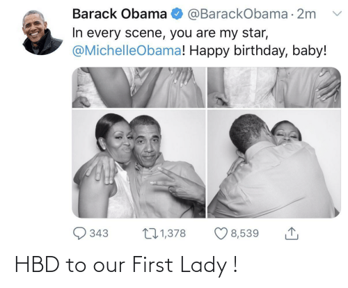 first lady: HBD to our First Lady !