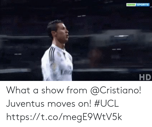 ucl: HD What a show from @Cristiano!  Juventus moves on! #UCL https://t.co/megE9WtV5k