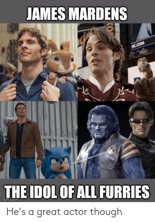actor: He's a great actor though