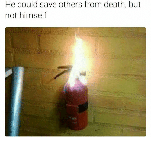 Memes, Death, and 🤖: He could save others from death, but  not himself