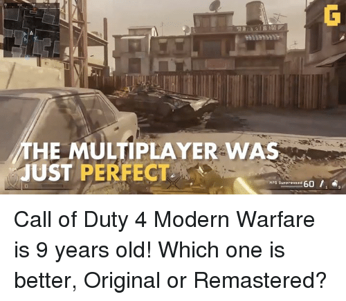 how to play call of duty 4 modern warfare multiplayer