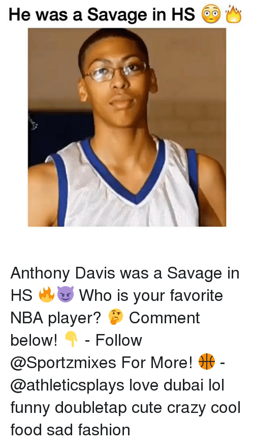 Anthony Davis: He was a Savage in HS Anthony Davis was a Savage in HS 🔥😈 Who is your favorite NBA player? 🤔 Comment below! 👇 - Follow @Sportzmixes For More! 🏀 - @athleticsplays love dubai lol funny doubletap cute crazy cool food sad fashion