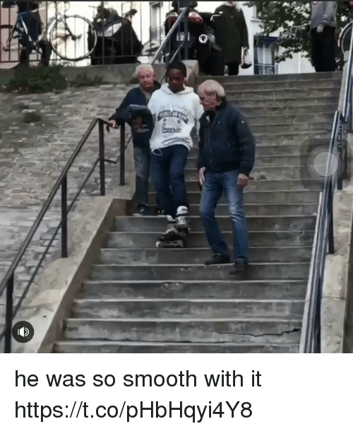 Funny, Smooth, and So Smooth: he was so smooth with it https://t.co/pHbHqyi4Y8