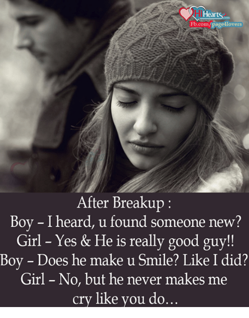 girl crying after breakup